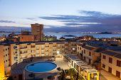 pic of manga  - Apartment buildings with pool in La Manga Murcia Spain - JPG
