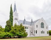 image of south-western  - Dutch Reformed Church Heidelberg in the Western Cape Province of South Africa - JPG