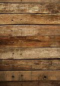 stock photo of wood pieces  - old wood plank background - JPG