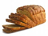 image of fresh slice bread  - Loaf of bread - JPG