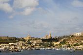 picture of mosk  - ancient architecture of gozo island in malta