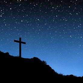 pic of christian cross  - Jesus - JPG