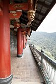 old Taoist Buddhist temple