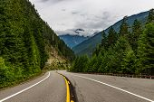 North Cascades National Park Is A Remote, Rugged Wilderness In The North Cascades Mountain Range Of  poster