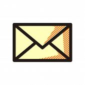 Email Icon Isolated On White Background From Miscellaneous Collection. Email Icon Trendy And Modern  poster