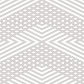 Vector Geometric Lines Seamless Pattern. Modern Linear Texture With Diagonal Stripes, Broken Lines,  poster