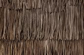 Genuine Leather Fringe Texture. Boho Style Decorative Element. A Close-up Of A Bohemian Accessory. B poster