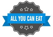 All You Can Eat Blue Label. All You Can Eat Isolated Seal. All You Can Eat poster