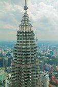 image of petronas towers  - KUALA LUMPUR  - JPG