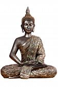 picture of siddhartha  - Buddha statue sitting there with folded arms and legs - JPG