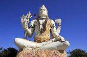 pic of shiva  - Lord Shiva in calm composed sitting posture at Naganatha  - JPG