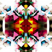 image of lsd  - Colorful Abstract Seamless Background Vector - JPG