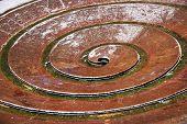 image of koln  - Spiral fountain of Koln - JPG