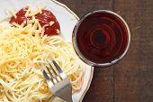Spaghetti And Wine poster