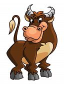 stock photo of carabao  - Buffalo Editable  - JPG