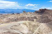 picture of arid  - the hottest arid desert in the USA - JPG