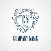 picture of monogram  - Monogram Logos - JPG