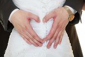stock photo of dress-making  - Wedding day - JPG