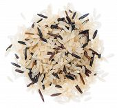stock photo of rice  - Mixed Rice  - JPG