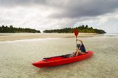 foto of pacific islands  - Exploring the gorgeous lagoon of Aitutaki by canoeing - JPG