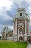 foto of pilaster  - ancient palace in Tsaritsyno park in Moscow - JPG