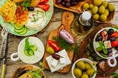 pic of greek  - Greek cuisine dishes  - JPG