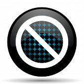 picture of denied  - access denied icon  - JPG