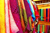 picture of nativity  - Colorful of thai native fabric in Chiangmai - JPG