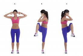 picture of elbow  - Step by step instructions for abs - JPG