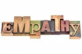 picture of empathy  - empathy word abstract  - JPG
