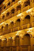 Постер, плакат: Оперный Театр древнего итальянского Ренессанса Роскошный классический театр