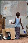 Poverty African Child