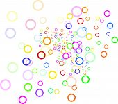 Colorful Bubble Circles