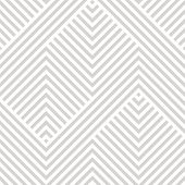 Vector Geometric Seamless Pattern. Modern Texture With Lines, Stripes. Simple Abstract Geometry Grap poster