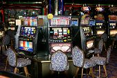 foto of slot-machine  - Slot machine in a casino on a cruise ship - JPG