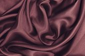 Smooth Elegant Pink Silk Or Satin Luxury Cloth Texture As Abstract Background. Luxurious Background poster