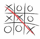 picture of tic-tac-toe  - Tic - JPG