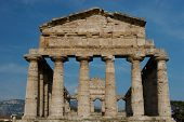 stock photo of ceres  - Greek Temples in Campania Italy - JPG