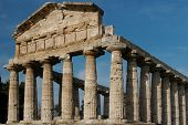 picture of ceres  - Greek Temples in Campania Italy - JPG