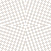 Subtle Vector Checkered Seamless Pattern. White And Beige Staggered Squares. Optical Art Texture. Mo poster