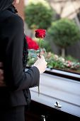 stock photo of casket  - Religion - JPG