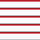 Seamless Vector Repeat Nautical Stripe Pattern Colored Red And Navy Horizontal Parallel Stripes With poster
