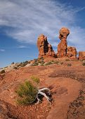 picture of garden eden  - Garden of Eden in Arches Nationalpark - JPG
