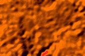 Gradient Abstract Texture With Curved Shapes Of Fancy In 2020 Orange Color Lush Lava - Looks Like Li poster