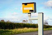 Radar speed camera in the uk poster