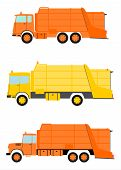Garbage Truck Set.
