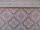 Moroccan wall with tile