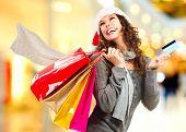 pic of shopping center  - Christmas Shopping - JPG