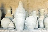 picture of pottery  - Pottery in Morocco - JPG
