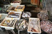 Fresh Fish on market